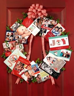 Great idea for all those holiday photo cards!