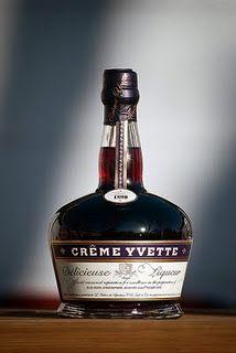 Creme Yvette Violette Liqueur