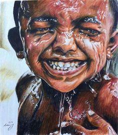 African boy by TommyNam