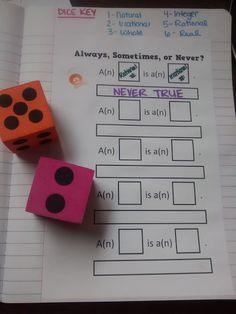 Math = Love: Algebra 2 Skill 1: Classifying Real Numbers