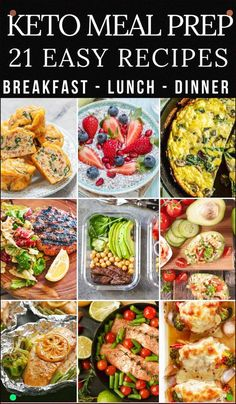 21 Keto Diet Recipes Perfect For Meal Prep and Meal Planning These Ketogenic Recipes For Breakfast, Lunch, And Dinner Make Losing Weight Taste Delicious Awesome Tips For Beginners If Youre Looking For Low Carb Recipes To Meal Prep For The Week Like Keto Crockpot Meals, Breakfasts, Ketogenic Snacks Like Fat Bombs And Easy Dinners You Dont Want To Miss This
