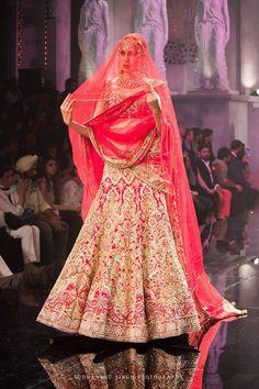Suneet Verma bridal lehenga set