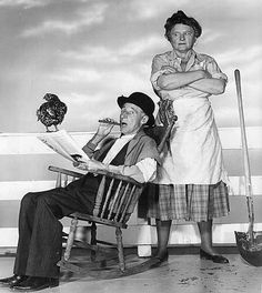 Ma & Pa Kettle movies -- I enjoyed them on TV when I was growing up