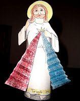 Divine Mercy and St. Faustina Crafts, Printables, and More catholicicing.com
