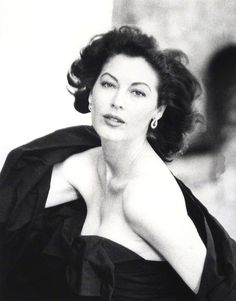 Ava Gardner, 1953 (Norman Parkinson) AVA, hard to believe she is human, startling beauty.