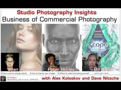 Studio Photography Insights: Business of Commercial Photography. How to be a photographer.