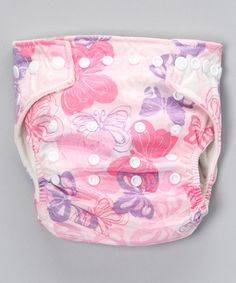 Super cute butterflies.Take a look at this One-Size Butterfly Stuff-It Pocket Diaper by Bumkins on #zulily today!