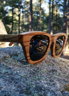 Save 25% on your next pair of Thrive Shades with coupon code: PROSPER. Our handcrafted wood sunglasses have UV 400 polarized lenses and float on water! We even plant a tree for every sale!  www.etsy.com/shop/ThriveShades