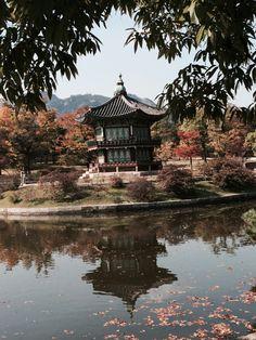 """Gardens  Palacio de Gyeonbokgung. Decubre sobre el lugar preferido de #Corea en nuestro artículo """"Castillos reales de Corea: un paseo por el Palacio de #Gyeonbokgung"""" #Viajes #Seul #SouthKorea #Seoul"""