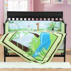 89.80$  Buy here - http://alikfs.shopchina.info/go.php?t=32652708751 - 4PCS embroidered Baby Cot Bedding Set For Bumper Cots Cute Baby Crib Set,include(bumper+duvet+sheet+pillow) 89.80$ #buychinaproducts
