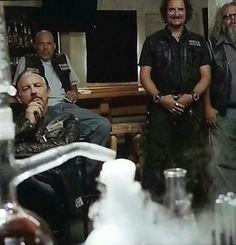 Love Tig's face!!! And knowing what they're watching, you can understand why he's smiling!