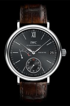IWC Portofino 8 Day Hand Wound Stainless steel case Automatic
