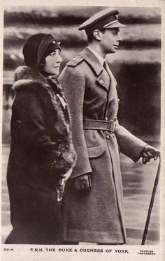 Duke and Duchess of York, future King George VI. and Queen ELizabeth of Britain Royal King, Royal Queen, Queen Mary, King Queen, George Vi, Duchess Of York, Duke And Duchess, Lady Elizabeth, Great King