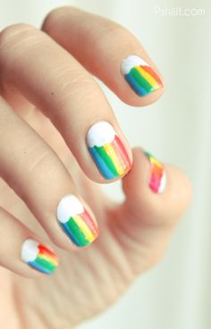 Easy Nail Art Designs — Easy Nail Art Designs 6 I have got to get this nail style