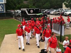 Making the way to the field