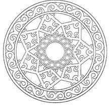Mandala  33 - Coloring page - MANDALA coloring pages - Mandalas for EXPERTS