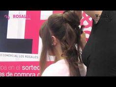 Nueva demostración de la Peluquería Wonder Rosales. En esta ocasión de cómo hacer un moño Romano con la ayuda de la blogguer Ana (http://noestrivial.blogspot.com.es/).