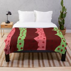 Creative Background, Home Decor Accessories, Bed Sheets, Comforters, Pillow Covers, Dots, Waves, Blanket, Pillows
