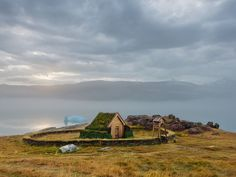 Wood Church, Greenland: Erik the Red killed a man in Iceland over a trifle and worshipped Norse gods until the end, but at Qassiarsuk (above), site of his Greenland farm, there is a replica of the tiny wood church he built for his wife, who converted to Christianity. A wall kept out the livestock.