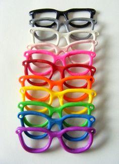 """I said I like glasses. I can wear my glasses and keep the sun IN my eyes"""