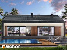 Projekt domu Dom w lulo - ARCHON+ Modern House Plans, Exterior, Outdoor Decor, Home Decor, Arquitetura, House, Homemade Home Decor, Interior Design, Outdoor Rooms