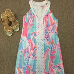 ⛔️SOLD⛔️Brand New Lynn Shift $170 on Ⓜ️ Will take offers on Ⓜ️ Lilly Pulitzer Dresses Mini