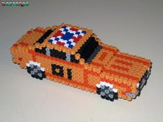 perler general lee the dukes of the hazzard
