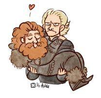 Brienne x Tormund by StressedJenny