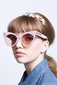 ab3bbd2f14a Starburst Dusty Pink & Gold - Eyewear | Karen Walker shop now on Lisa Says  Gah
