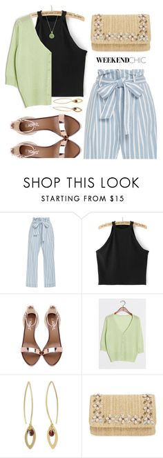 """""""Weekend Chic"""" by ivansyd ❤ liked on Polyvore featuring Frame Denim, NOVICA, Glint and weekendstyle"""