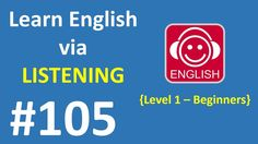 Learn English via Listening Level 1 | Lesson 105 - When I Grow Up
