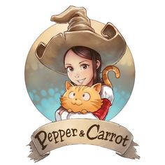 Official homepage of Pepper&Carrot, a free/libre and open-source webcomic about Pepper, a young witch and her cat, Carrot. They live in a fantasy universe of potions, magic, and creatures.
