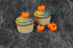 Halloween: Kürbis-Cupcakes - super schön und lecker