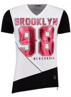 Blackrock Skeza T-Shirt  Wit, Roberto-Romero