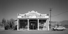 JÜRGEN VOGT - DESERT MARKET Daggett California 8 ½˝× 17˝ Edition 15 10˝× 20˝ Edition of 11
