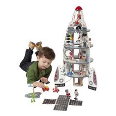 Educo Discovery Spaceship and Lift-Off Rocket