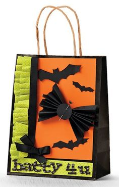 Batty 4 U Gift Bag by @Maren Benedict