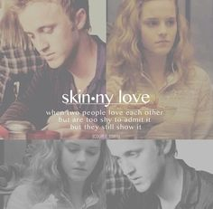 Dramione is skinny love