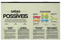 """Série """"No limite da emergência"""". Reportagem: Fernanda Ribas / Edição: Cleisi Soares / Design: Valquíria Ortiz"""