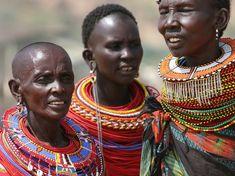 women in East Africa. Samburu women with traditional jewelery in East af ,Samburu women in East Africa. Samburu women with traditional jewelery in East af , African Tribes, African Women, African Fashion, African Style, African Tribal Jewelry, African Beads, Tribal African, Out Of Africa, East Africa