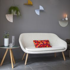 + HAY | Pivot Shelf | About A Lounge Sofa | Copenhague Round Table CPH20