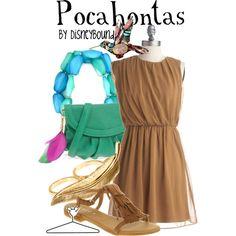 Pocahontas, created by lalakay