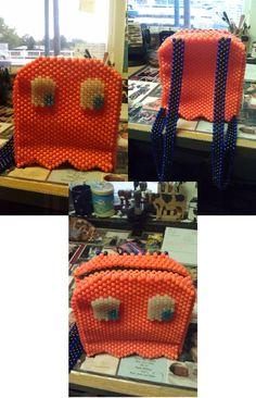 Pacman Ghostie Backpack by Steffazi - Kandi Photos on Kandi Patterns
