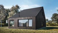 PODKOWA_2 Shed, Houses, Exterior, Outdoor Structures, Ideas, Projects, Homes, Outdoors, House
