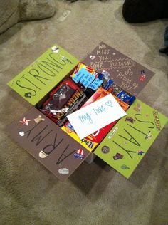 Care package #2, stay army strong, deployment, army girlfriend, army, Afghanistan, care package ideas.
