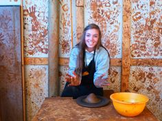 Mairead, a rising senior, is currently participating in our international exchange program with our sister school, St. Margaret's British School for Girls in Chile. Here she tries her hand at pottery while visiting Pomaire.  viewbook.sms.org