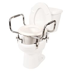 Adjustable Raised Toilet Seat * Detailed information can be found by clicking on the VISIT button