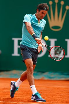 Roger Federer Photos - ATP Masters Series: Monte Carlo Rolex Masters - Day Five - Zimbio