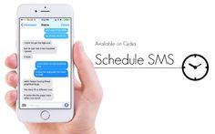 SMS programmati su iPhone