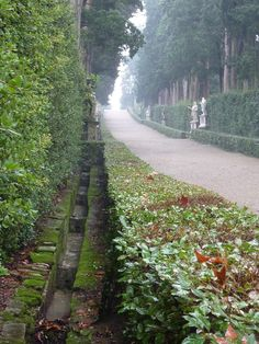 Very attractive gutter/storm water management in Italy